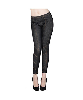 Jegging With Contrast Stitching-827Jn014-Women