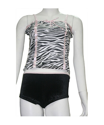 Sefon Zebra Strip Baby Doll Small-Women