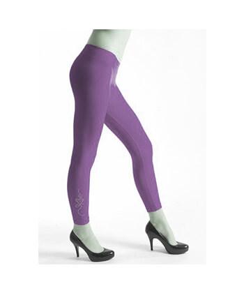 Rguw254-6987 SeaMLess Fashion-Purple Legging-Women