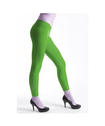 Rguw254-6987 SeaMLess Fashion-Green Legging-Women
