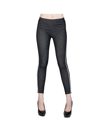 Yelete Leggings-827Jn008 Side Zipper-Women