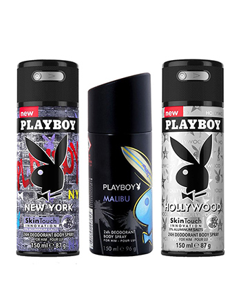 Playboy Press To Play Gift Set -Men