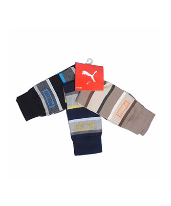 Puma Set Of 3 Socks -Men