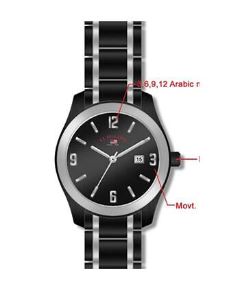 U.S. Polo Assn. Us8218 Silver-Tone Bracelet Watch-Men