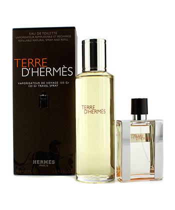 Hermes Terre D'Hermes Travel Spray Edp Giftset- Women