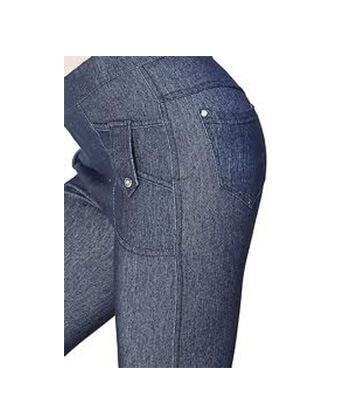 Yelete-827Jn035 Blue Legging-Women