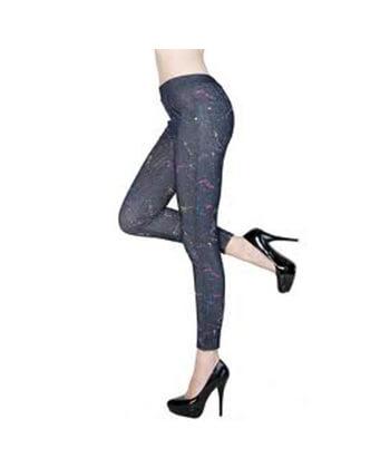 Yelete-827Jn036 Black Legging-Women