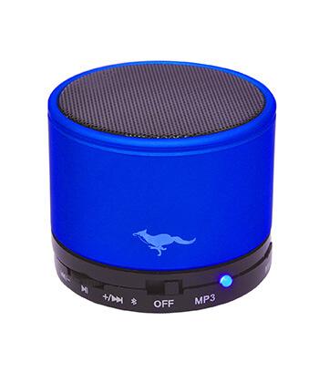 Fox Hunter Bluetooth Speaker (Blue)