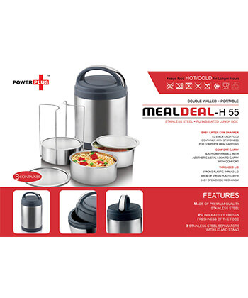 Meal Deal Double Walled Lunch Box