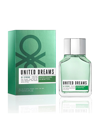 Benetton United Dreams Be Strong Edt 100ML-Men