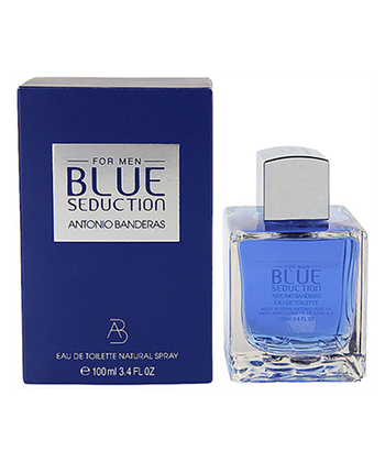 BLUE SEDUCTION ANTONIO BANDERAS FOR MEN EDT SPRAY 3.4 0Z