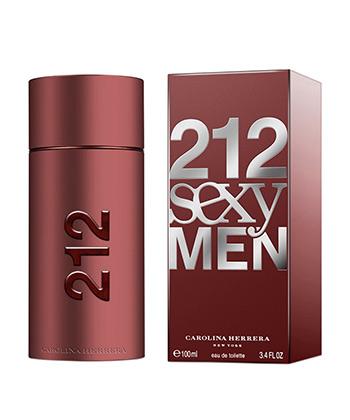 Carolina Herrera 212 Sexy Edt 100ML-Men
