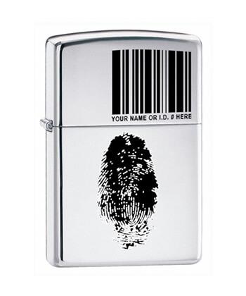 20836 I.D.Zippo Lighter