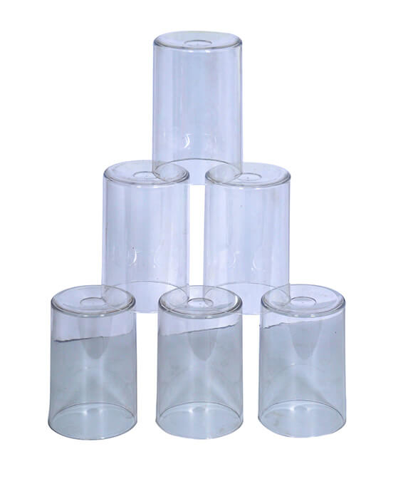 Craft Pack Crystal Clear Non-Breakable Set Of 6 Glasses