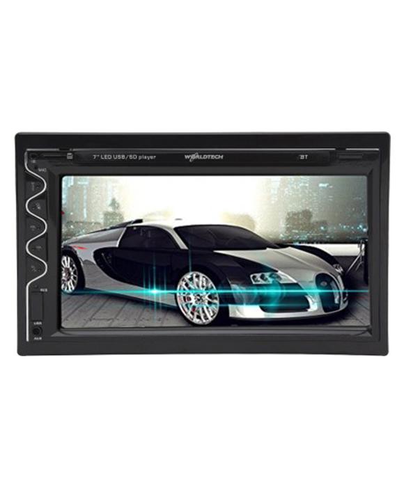 Worldtech Double Din Disk Less Bluetooth Video Player Wt-657Bt